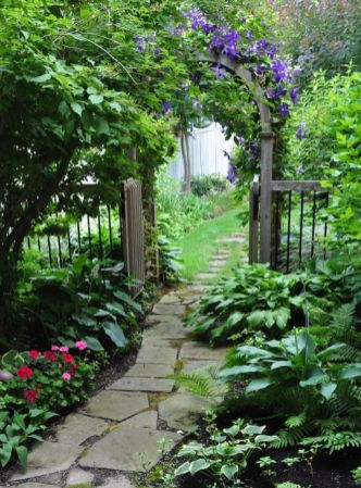 Stunning front yard entrance path walkway landscaping ideas 28