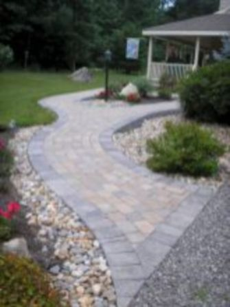 Stunning front yard entrance path walkway landscaping ideas 32