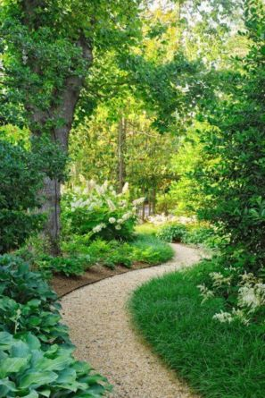 Stunning front yard entrance path walkway landscaping ideas 33