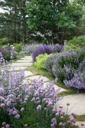 Stunning front yard entrance path walkway landscaping ideas 39