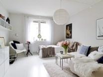 Stylish apartment studio decor furniture ideas 02