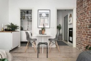 Stylish apartment studio decor furniture ideas 06