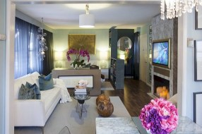 Stylish apartment studio decor furniture ideas 16