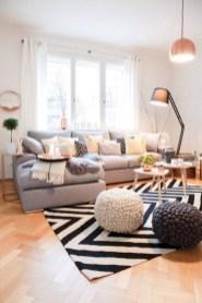 Stylish apartment studio decor furniture ideas 23