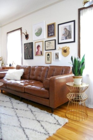 Stylish apartment studio decor furniture ideas 38