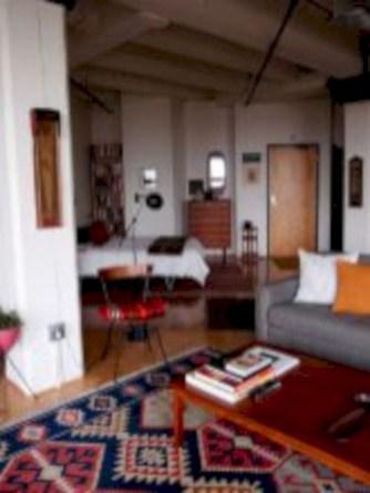 Stylish apartment studio decor furniture ideas 39