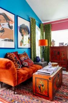 Totally inspiring boho living room ideas 04