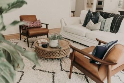 Totally inspiring boho living room ideas 34