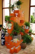 Adorable easy cinder block ideas for garden (3)
