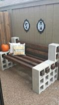 Adorable easy cinder block ideas for garden (4)