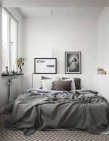 Adorable minimalist bedroom design decor ideas (9)