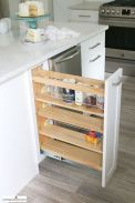 Affordable kitchen cabinet organization hack ideas (11)