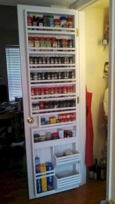 Affordable kitchen cabinet organization hack ideas (19)