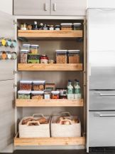 Affordable kitchen cabinet organization hack ideas (2)