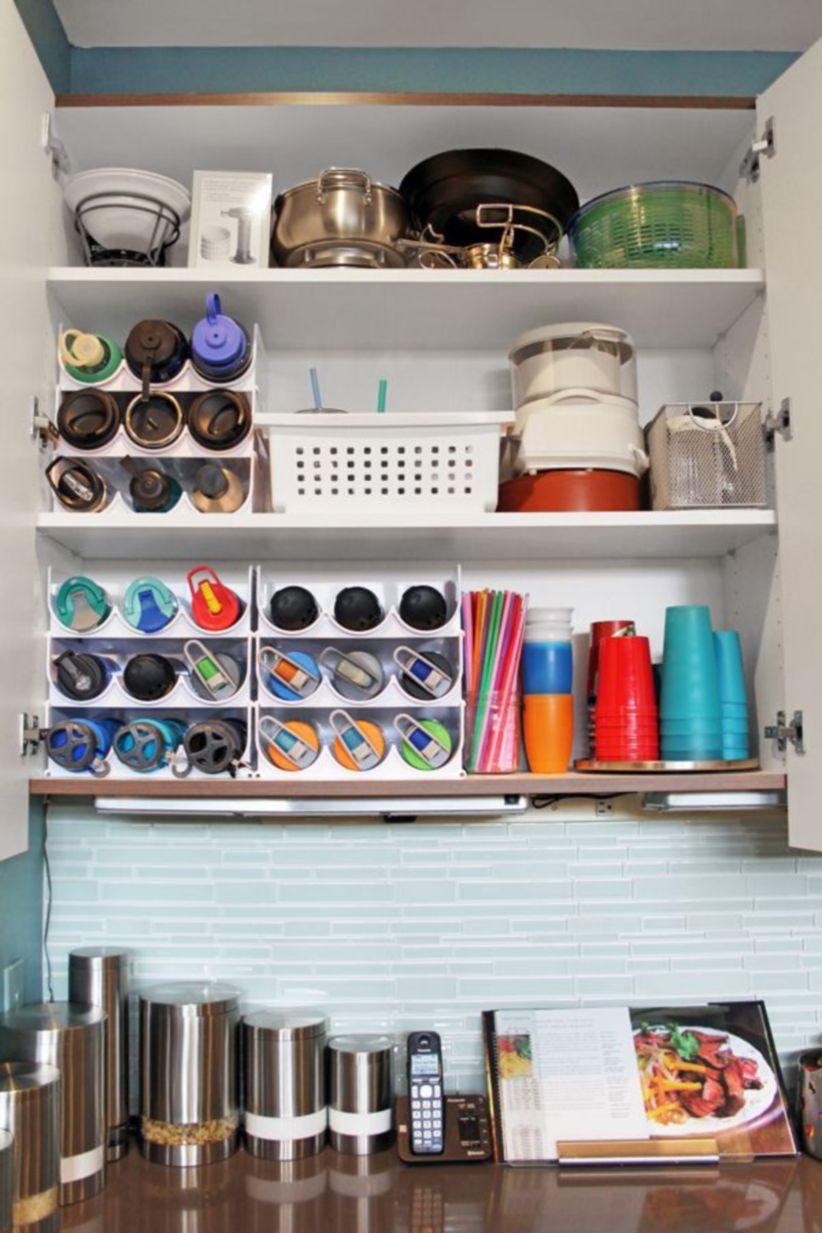 Affordable Kitchen Cabinet Organization Hack Ideas 30