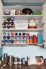 Affordable kitchen cabinet organization hack ideas (30)