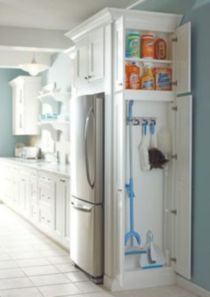 Affordable kitchen cabinet organization hack ideas (32)