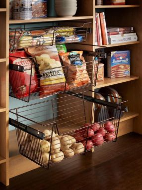 Affordable kitchen cabinet organization hack ideas (39)