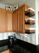 Affordable kitchen cabinet organization hack ideas (42)