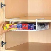 Affordable kitchen cabinet organization hack ideas (43)