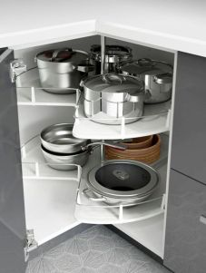 Affordable kitchen cabinet organization hack ideas (5)
