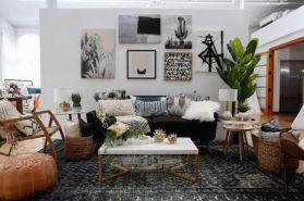 Amazing bohemian style living room decor ideas (15)