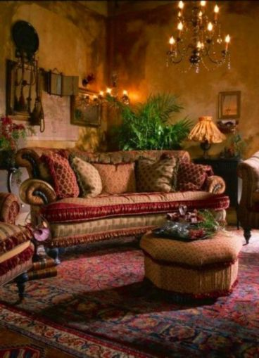 Amazing bohemian style living room decor ideas (27)