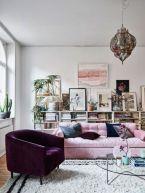Amazing bohemian style living room decor ideas (40)