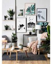 Amazing bohemian style living room decor ideas (43)