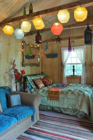 Awesome bohemian style home decor ideas (16)