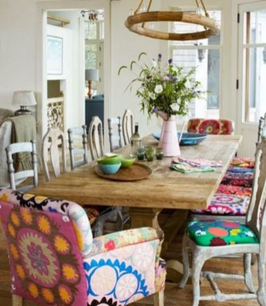 Awesome bohemian style home decor ideas (41)