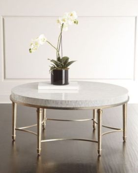 Beautiful marble coffee table design ideas for living room (32)