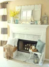 Beautiful spring mantel decorating ideas on a budget (20)