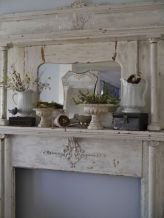 Beautiful spring mantel decorating ideas on a budget (21)