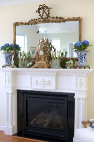 Beautiful spring mantel decorating ideas on a budget (22)