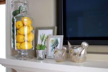 Beautiful spring mantel decorating ideas on a budget (24)