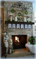Beautiful spring mantel decorating ideas on a budget (32)