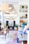 Beautiful spring mantel decorating ideas on a budget (6)
