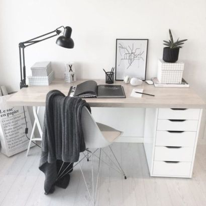 Best ideas for minimalist office interiors (15)
