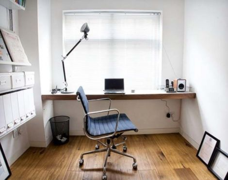 Best ideas for minimalist office interiors (20)