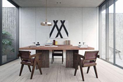 Best ideas for minimalist office interiors (36)