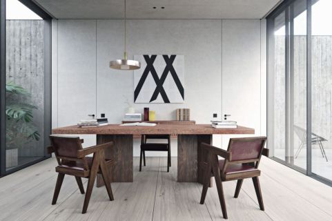 Best ideas for minimalist office interiors (36)