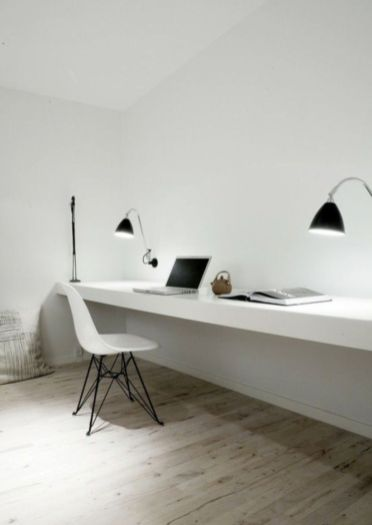 Best ideas for minimalist office interiors (43)