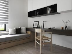 Best ideas for minimalist office interiors (44)