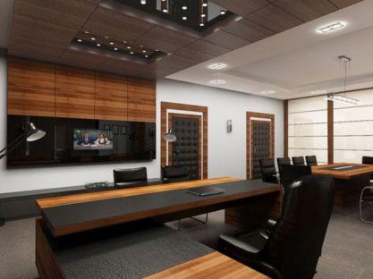 Best ideas for minimalist office interiors (48)
