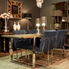 Comfy wood steel chair design for dining room (14)