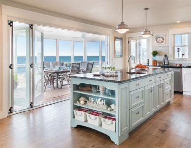 Cool coastal kitchen design ideas (22)