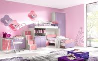 Cute pink kids bedroom designs ideas for small room (17)