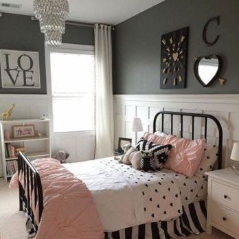 Cute pink kids bedroom designs ideas for small room (26)