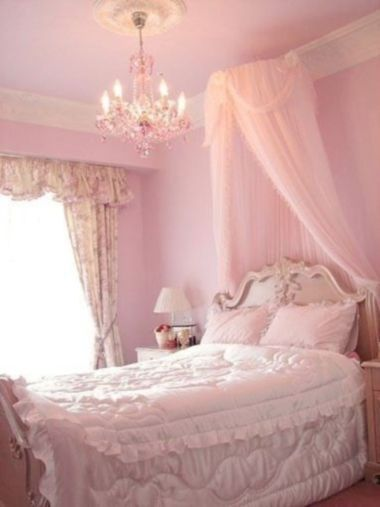 Cute pink kids bedroom designs ideas for small room (39)